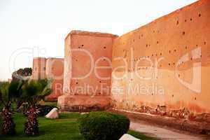 Stadtmauer von Marrakesch 276