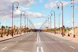 Straße in Marokko 799