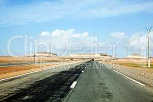 Straße in Marokko 943