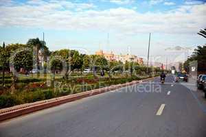 Straße in Marrakesch 281
