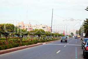 Straße in Marrakesch 282