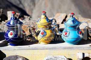 Teekannenverkauf in Marokko 658
