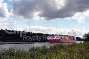 Containerschiff 872