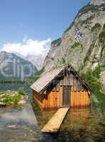 Bergsee in den Alpen - Lake in Mountains