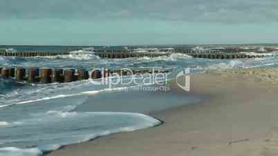 Brandung am Meer - Breakers at the Ocean