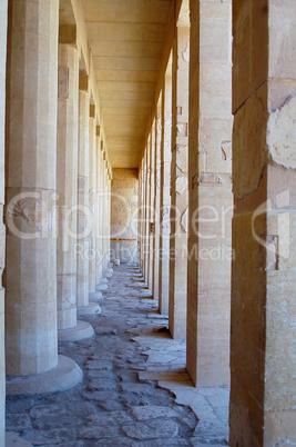 Colonnade Of Birth In Deir El-bahri