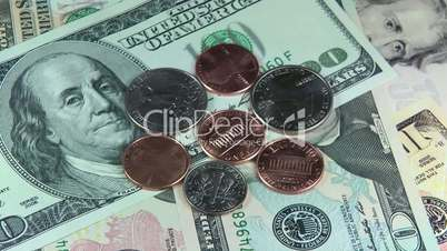 Dollar Currency Turntable - Rotierende Dollar Währung