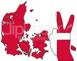 Dänisches Handzeichen