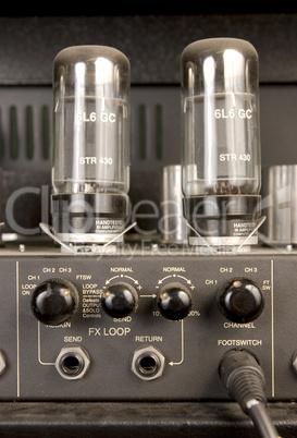 lamp audio signal amplifier