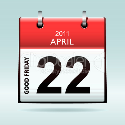 Good Friday Calendar