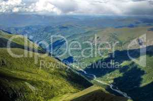 Akkem river valley