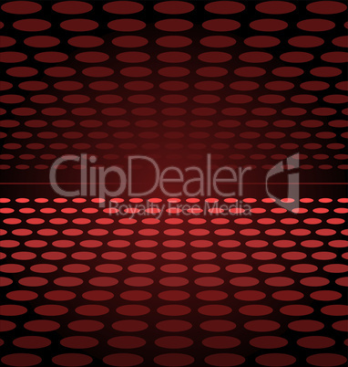 Illustration abstract background red