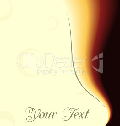 Illustration abstract background card