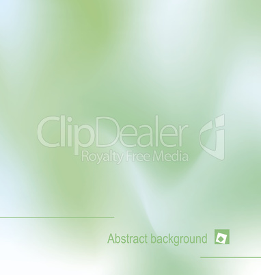 Illustration of abstract green backgroun