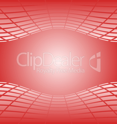 Illustration of red abstract background for design