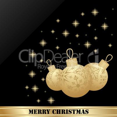 set Christmas ball