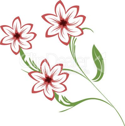 Illustration bouquet of flowers