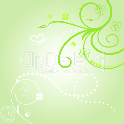 Floral background for design