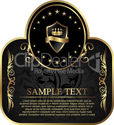 royal label for design packing