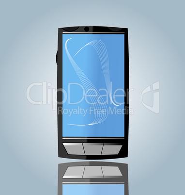 Realistic illustration of smart phone