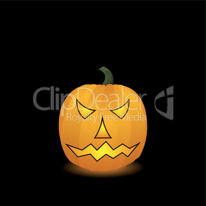 Halloween pumpkin. Vector