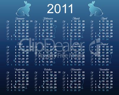 European calendar 2011
