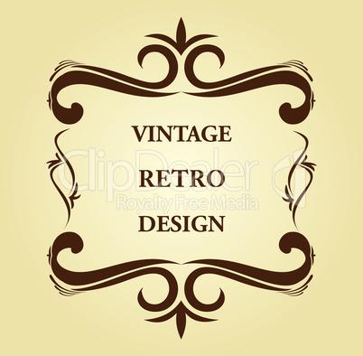 Luxury vintage for design