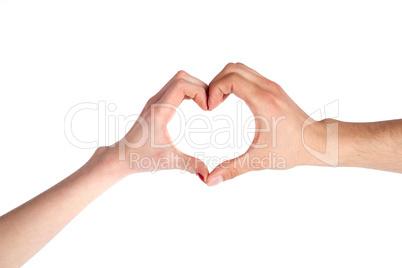 Hands Shaping a Heart