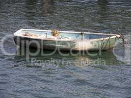 Altes Fischerboot im Atlantik,Algarve,Portugal