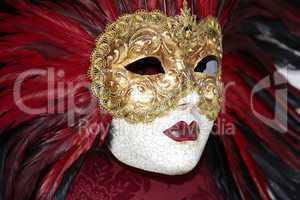Venezianische Maske Nahaufnahme