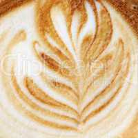 Cappuccino Nahaufnahme - Cappucino close-up