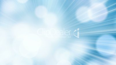 loopable abstract blue background light circles and beams