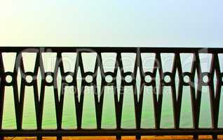 beautiful forged fence
