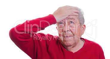 Senior sorgt sich