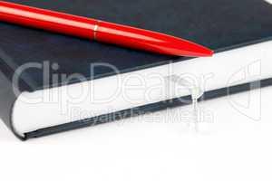 Terminplaner mit Knoten und Stift / organizer with node and pen