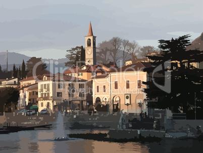 Hafen von Laveno / Lago Maggiore