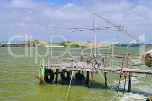 Fischersteg - fishing stage 01