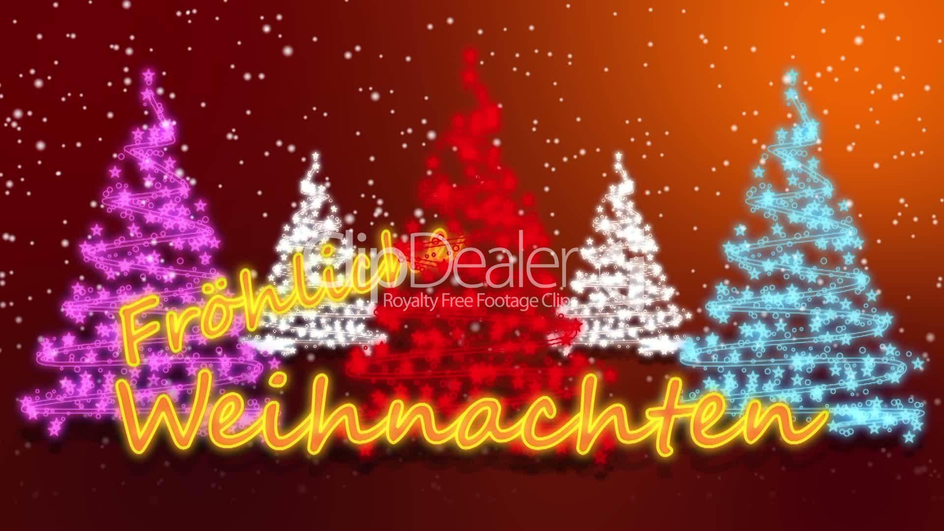 Fröhliche Weihnachten - Animation: Lizenzfreie Stock Videos und Clips