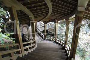 Japanese staircase