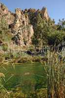 Preveli-Schlucht auf Kreta