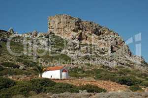Kapelle auf der Rhodopos-Halbinsel, Kreta
