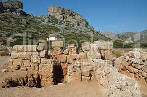 Ausgrabungsstätte auf Kreta