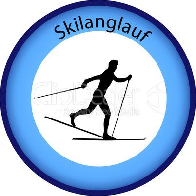 Skilanglauf Button