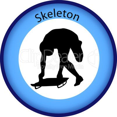 wintersport skeleton