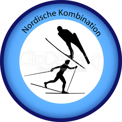 Button Nordische kombination