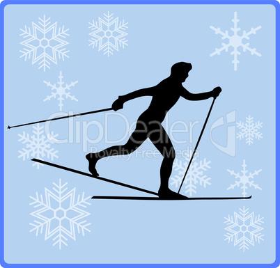 wintersport langlauf
