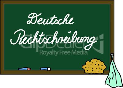 Schultafel Deutsche Rechtschreibung
