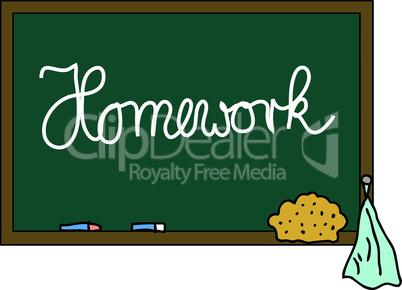 Schultafel Homework