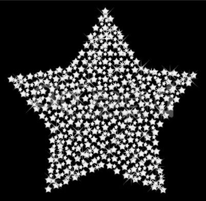 stern aus sternen