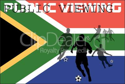 public viewing südafrika